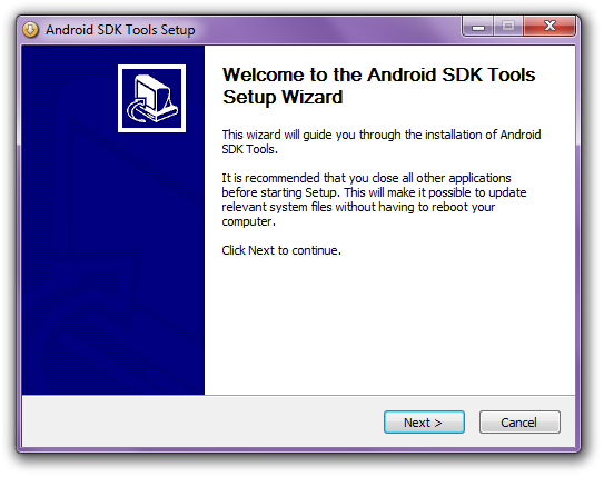 Android SDK welcome