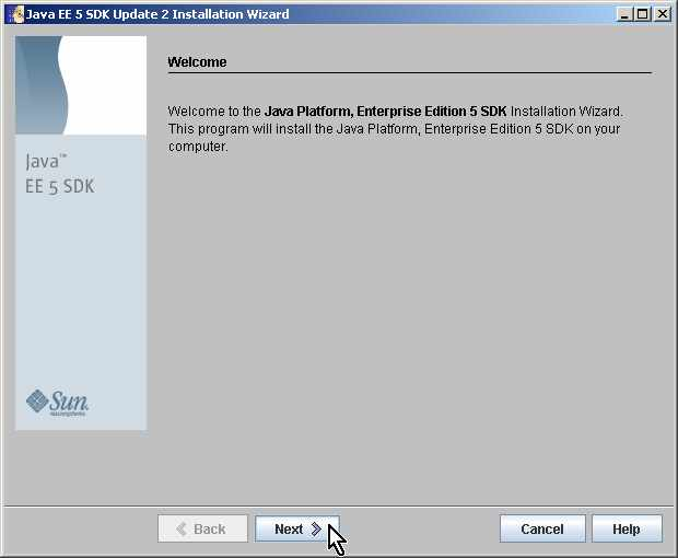 tool setup instructions java ee 5 0 02 rh capcourse com Java SDK Windows Java Runtime